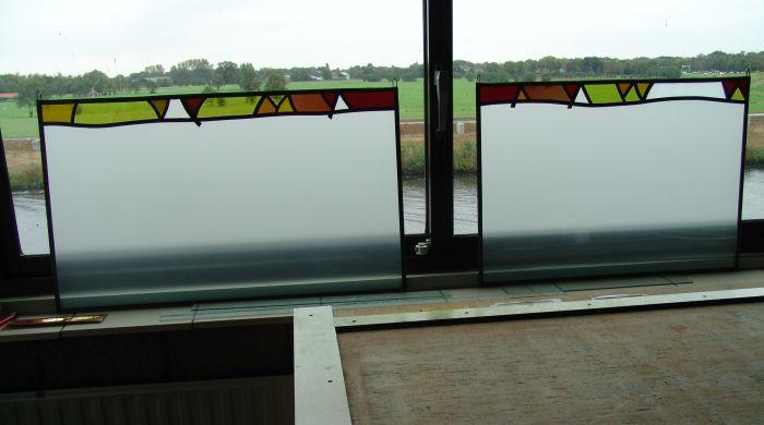 Glas in lood hangers in keuken leusden 2014 - Keuken glas werkplaats ...